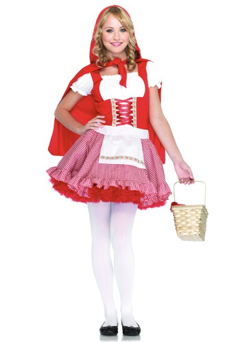 Click Here to buy Teen Red Riding Hood Costume | Storybook Character Costume from HalloweenCostumes, CDN Funds & Shipping
