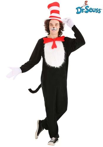 Click Here to buy Adult Dr. Seuss Cat in the Hat Costume from HalloweenCostumes, CDN Funds & Shipping