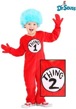 Kid's Thing 1&2 Deluxe Costume