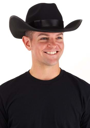 Click Here to buy Black Cowboy Hat from HalloweenCostumes, CDN Funds & Shipping