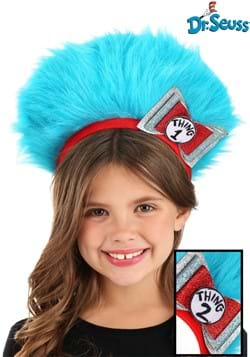 Thing 1 & 2 Fuzzy Headband