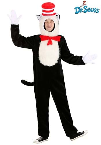 Premium Cat in the Hat  Costume for Adults