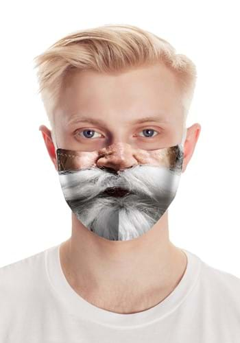 Click Here to buy Santa Clauses Beard Face Mask from HalloweenCostumes, CDN Funds & Shipping