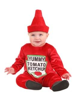 Ketchup Bottle Costume for Infants