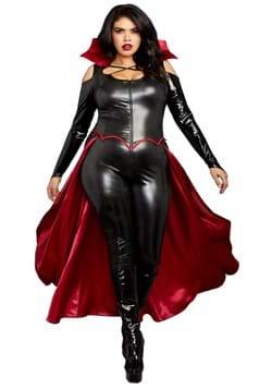 Women's Plus Size Sexy Princess of Darkness Costum