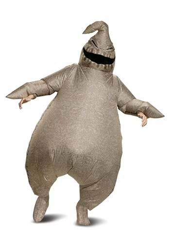 Click Here to buy Inflatable Oogie Boogie Nightmare Before Christmas Costume from HalloweenCostumes, CDN Funds & Shipping