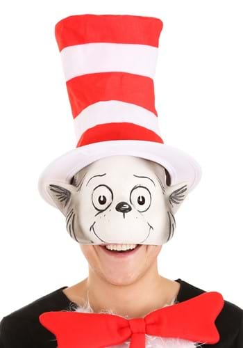Click Here to buy The Cat in the Hat Latex Mask & Hat Kit from HalloweenCostumes, CDN Funds & Shipping