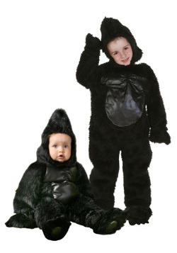 Deluxe Toddler Gorilla Costume