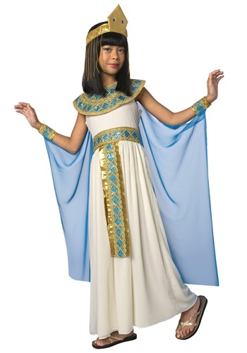 Click Here to buy Kids Cleopatra Costume from HalloweenCostumes, CDN Funds & Shipping