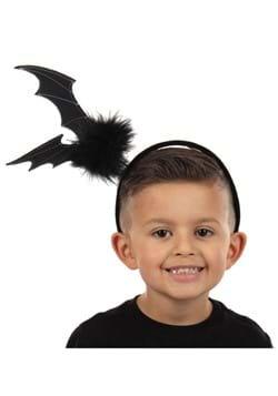Springy Black Bat Headband
