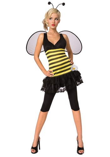 Click Here to buy Adult Honey Bee Costume from HalloweenCostumes, CDN Funds & Shipping
