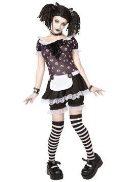 Gothic Rag Doll Costume