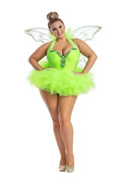 Womens Plus Size Tink Costume