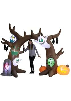 Inflatable 8 FT Scary Tree Archway