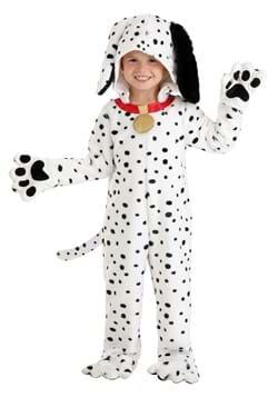 Toddler Plush Dalmatian Puppy Jumpsuit