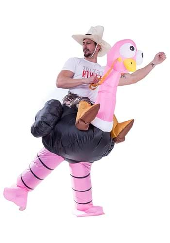 Click Here to buy Adult Inflatable Ride-On Ostrich Costume from HalloweenCostumes, CDN Funds & Shipping