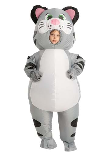 Inflatable Kids Cat Costume
