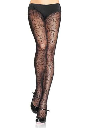 Spiderweb Lace Womens Tights