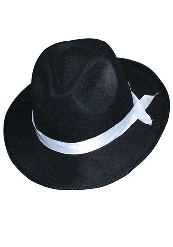 Click Here to buy Fedora Pro Felt Gangster Hat from HalloweenCostumes, CDN Funds & Shipping