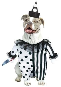 Evil Clown Pet Costume