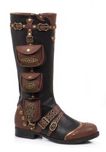 Click Here to buy Steampunk Womens Boots from HalloweenCostumes, CDN Funds & Shipping