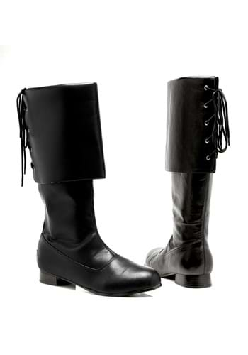 Click Here to buy Womens Black Pirate Boots from HalloweenCostumes, CDN Funds & Shipping