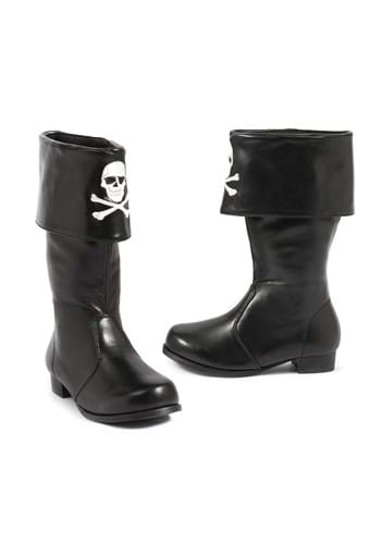 Click Here to buy Crossbones Kids Pirate Boots from HalloweenCostumes, CDN Funds & Shipping