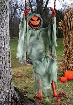 5 Ft Swinging Dead Pumpkin Decoration-1-1