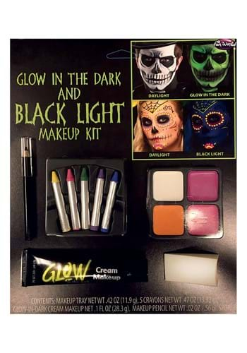Blacklight/Glow in the Dark Makeup Kit