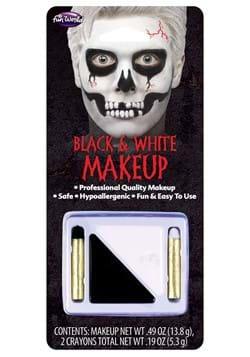 Black and White Crayons Makeup Kit