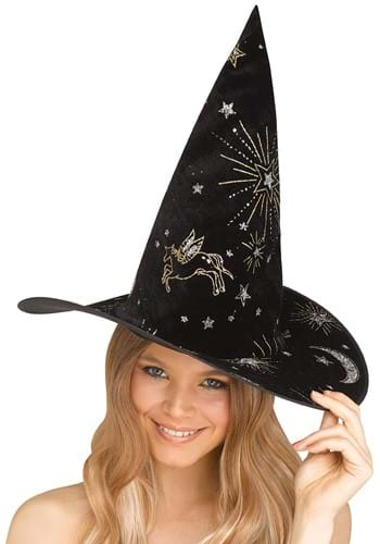 Click Here to buy Black Constellation Witch Costume Hat from HalloweenCostumes, CDN Funds & Shipping