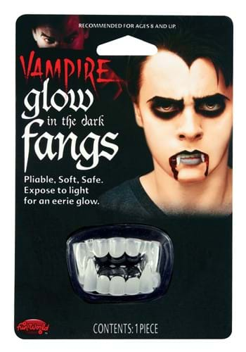 Glow in the Dark Vampire Fangs