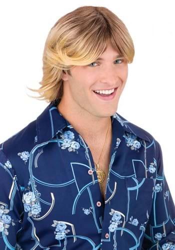 Ladies Man Shaggy Blonde Wig