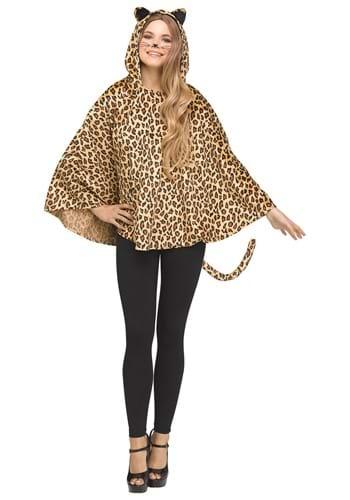 Leopard Womens Poncho