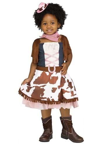Rodeo Cowgirl Costume for Toddlers