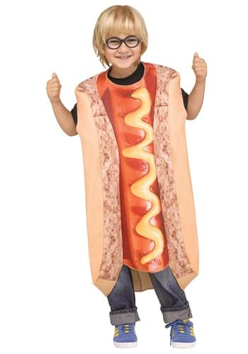 Photoreal Hot Dog Toddler Costume