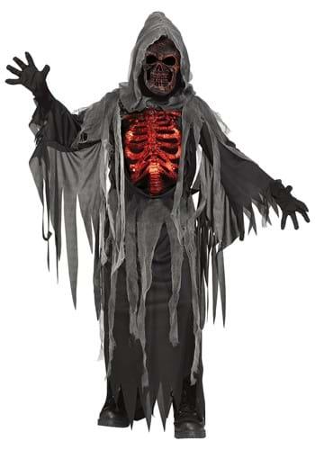 Smoldering Reaper Kids Costume