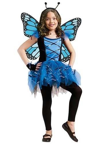 Blue Butterfly Girls Costume