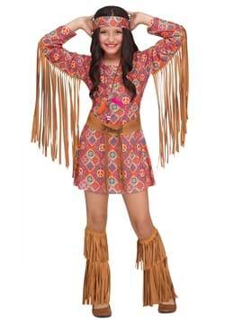 Girls Free Spirit Costume