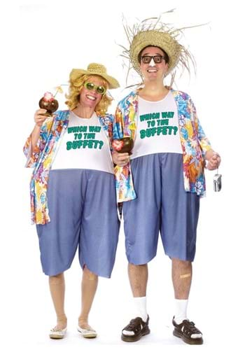 Adult Tacky Traveler Costume