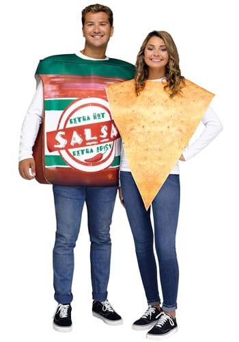 Click Here to buy Chips and Salsa Couples Adult Costume from HalloweenCostumes, CDN Funds & Shipping