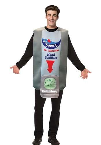Adult Hand Sanitizer Wall Dispenser Costume