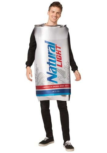 Natural Light Can Adult Size Costume