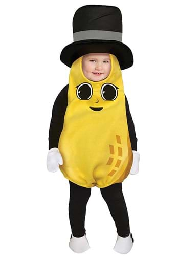 Click Here to buy Baby Mr. Peanut Costume from HalloweenCostumes, CDN Funds & Shipping