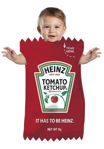 Click Here to buy Baby Heinz Ketchup Packet Bunting Costume from HalloweenCostumes, CDN Funds & Shipping