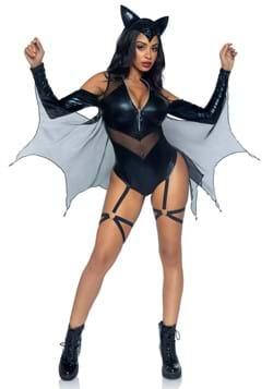 Sexy Midnight Bat Women's Costume