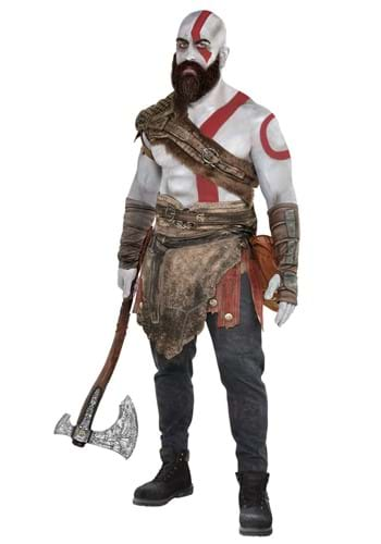 Kratos God of War Costume Armor Kit