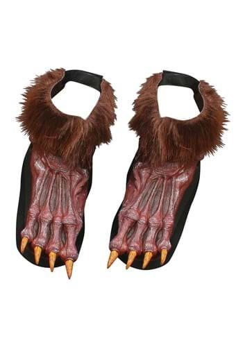 Werewolf Brown Shoe Covers