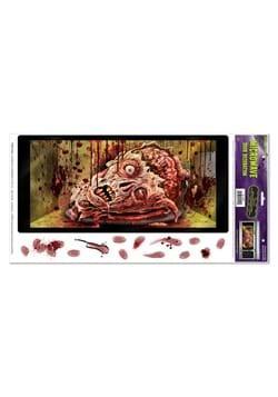 Zombie Microwave Door Peel 'N Place Cover