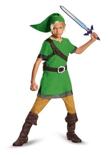 Kids Legend of Zelda Link Classic Costume